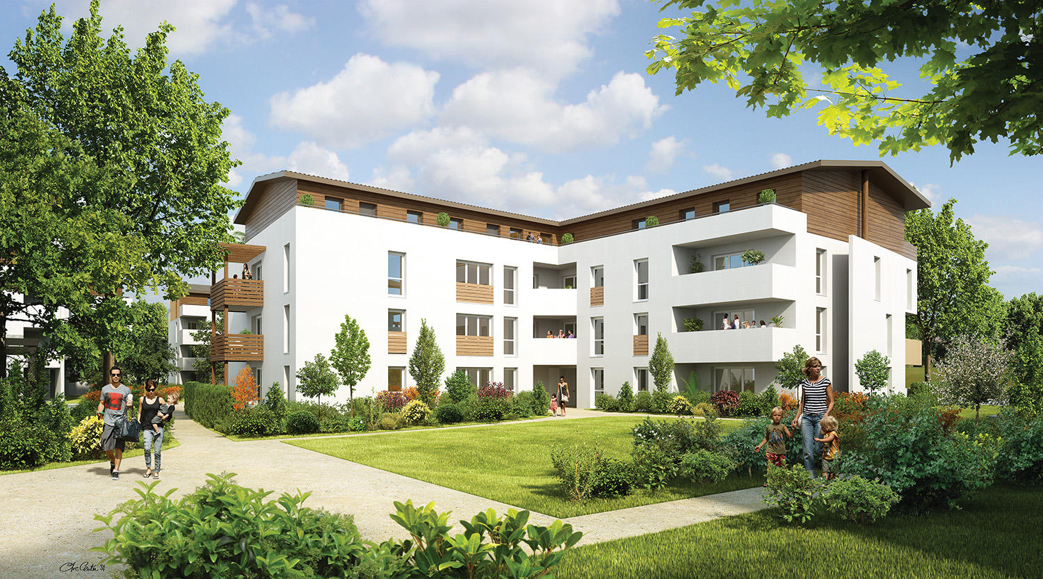 Elysea programme immobilier loi pinel neuf le haillan for Revente immobilier neuf